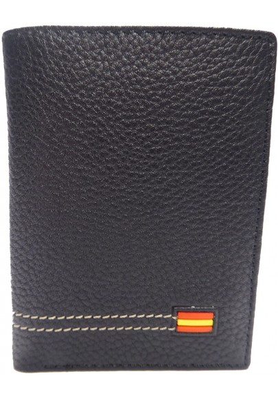 LEATHER WALLET SPANISH FLAG