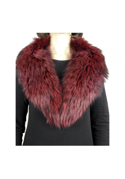 Marmot fur tuxedo collar-1