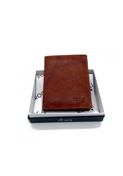 Leather wallet card case
