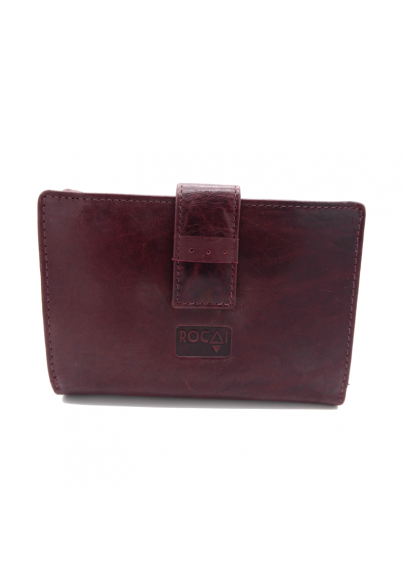 Women´s leather wallet medium size