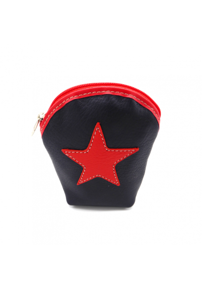 Star leather cigarrette case