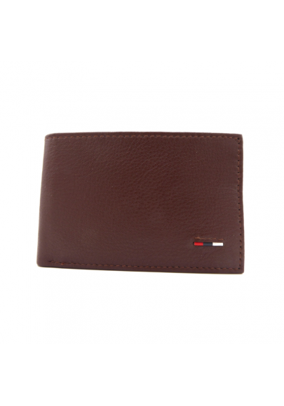 Men´s leather american wallet with purse