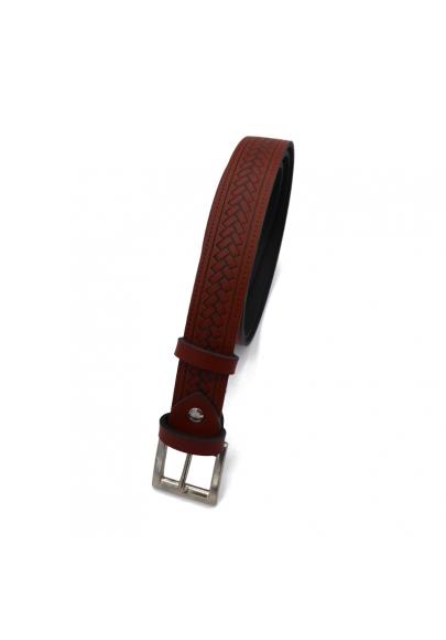 Basic leather belt 1.18 inches
